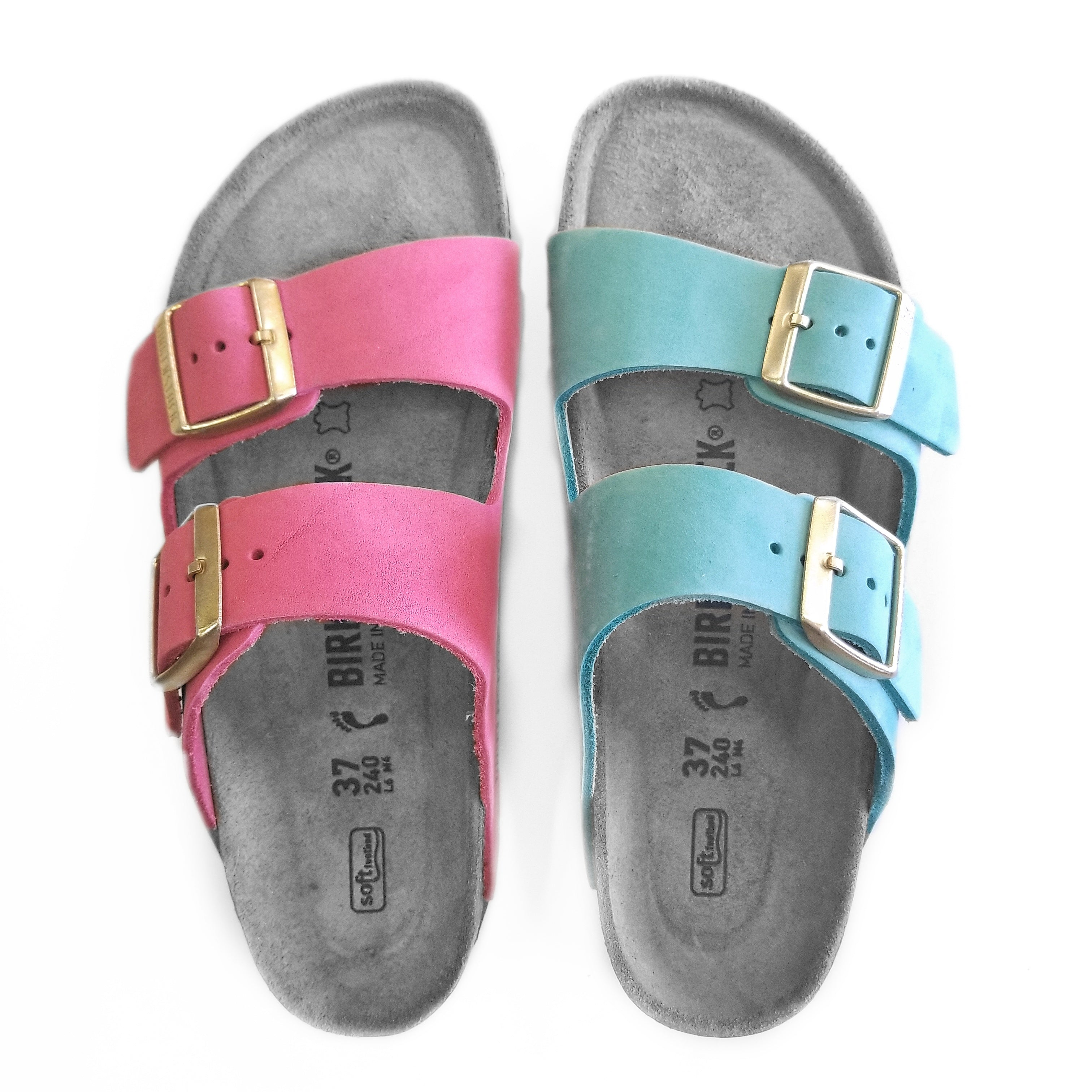 Birkenstock Pastels : Pretty in Pink (and Mint)