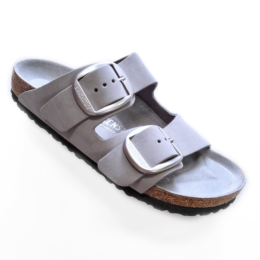 Birkenstock Big Buckle Arizona Dove Gray sandal