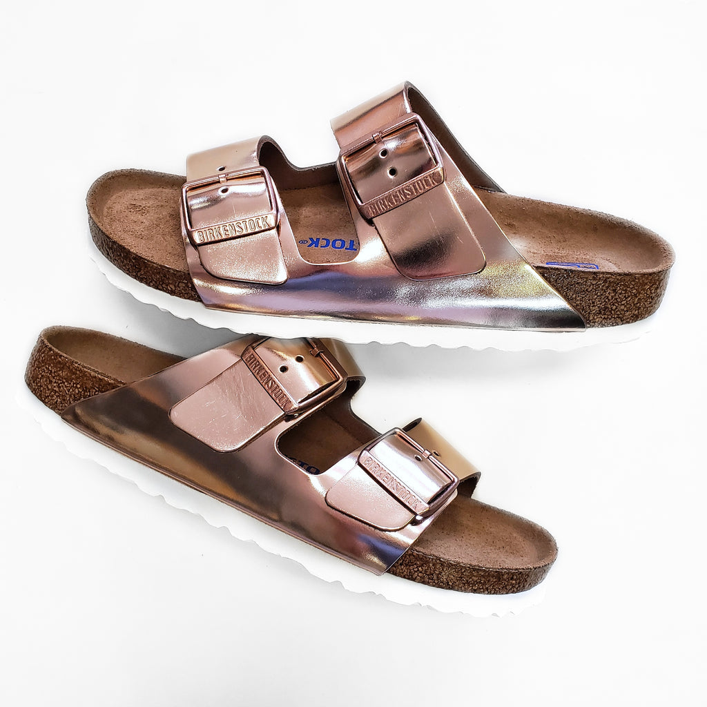 Birkenstock Arizona Metallic Copper (Rose Gold)
