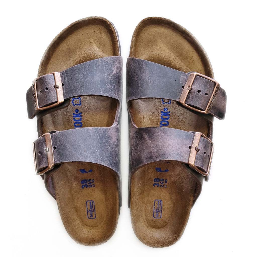 Birkenstock Arizona Habana Leather Sandal