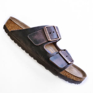 Birkenstock Arizona Habana Brown Oiled Leather Soft Footbed