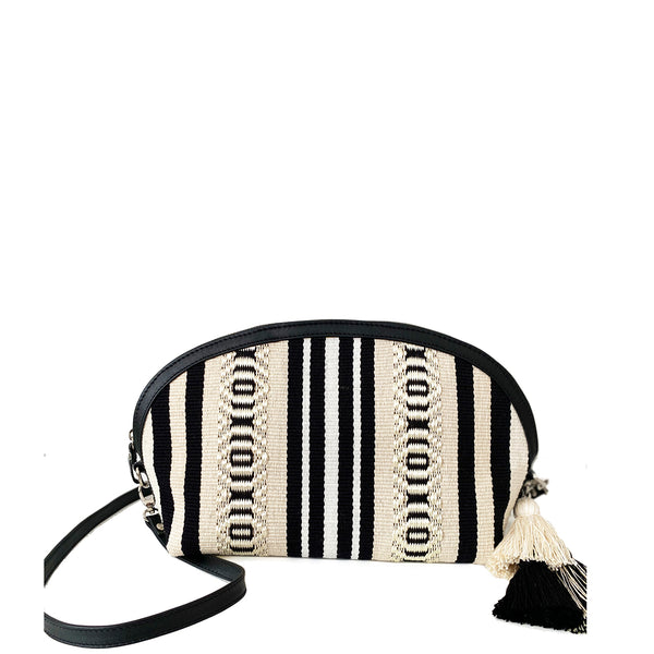 Cartera Mina Black & White