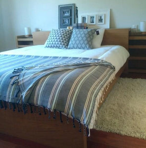 Handwoven Bedspread STRIPES