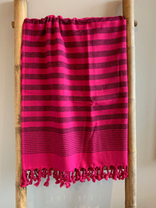 Handwoven tablecloth/blanket BEACH