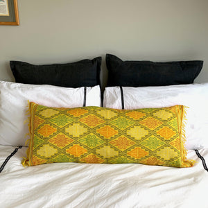 Big Yakan lumbar pillow cover from Philippines