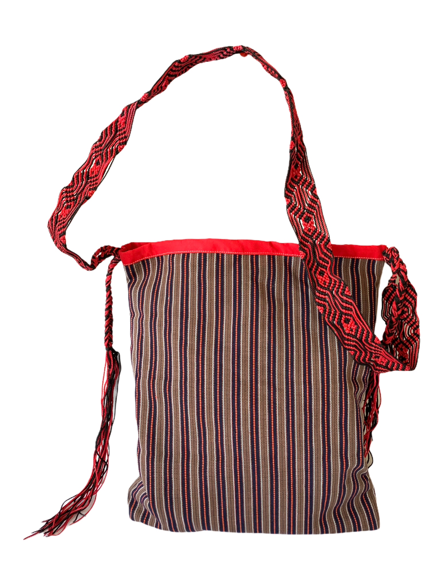 Cordillera tote bag, handwoven from Philippines
