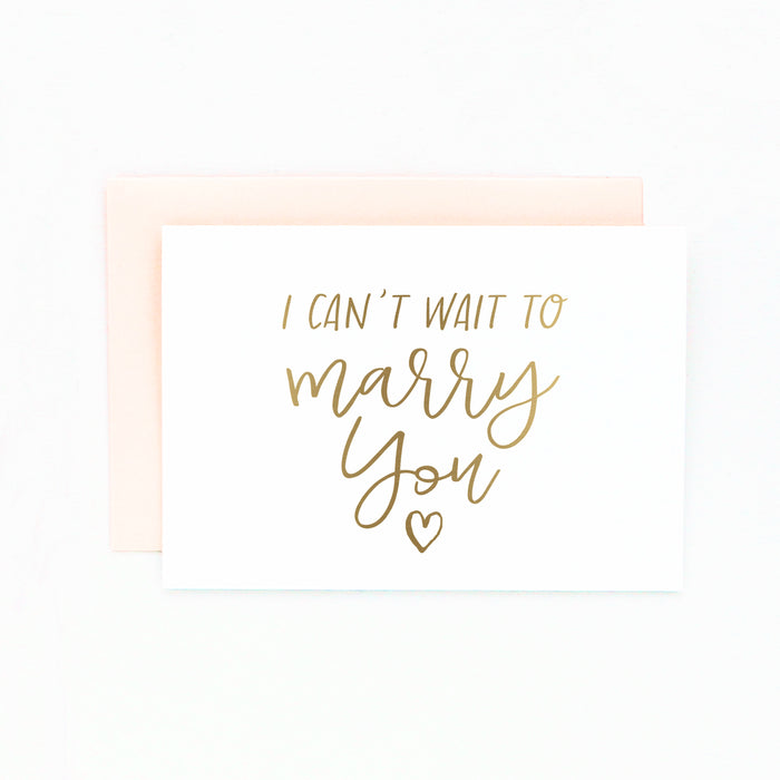 marry you card
