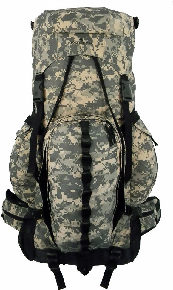 Expandable 6000cc-8000cc Hiking Backpack - Presidential Brand (R)