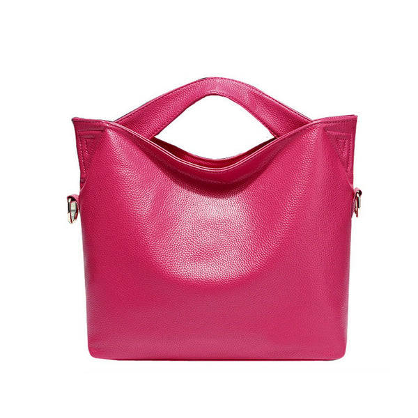 Casual Everyday Leather Shoulder Bag