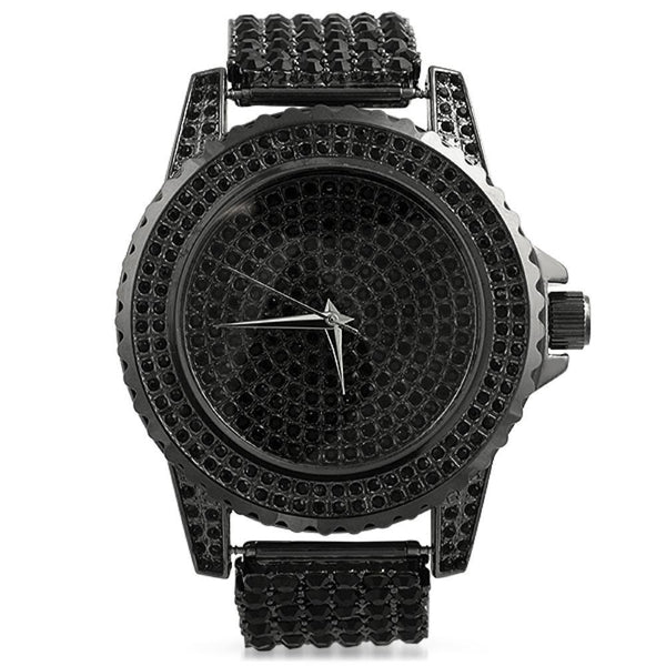 Black All Custom Watch Band