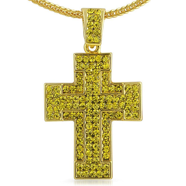Thick Lemonade Cross  Chain Small