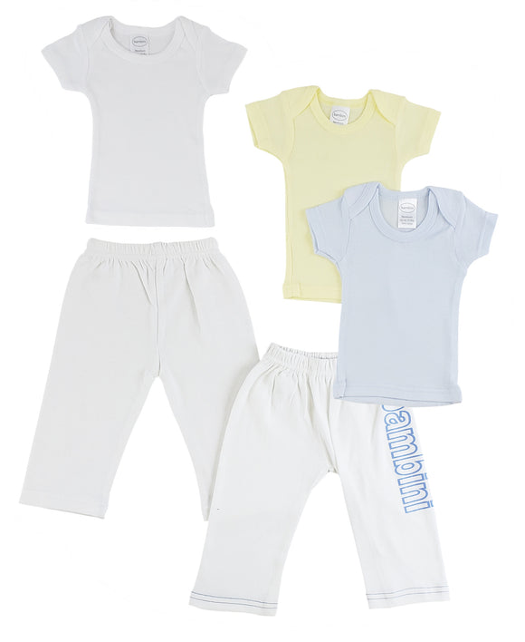 Infant Boys T-Shirts and Track Sweatpants - Presidential Brand (R)