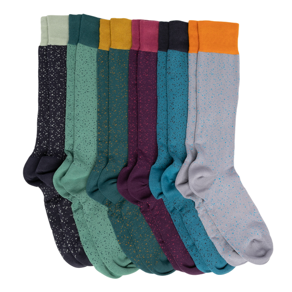 DeadSoxy Dress Sock 6-Pack - Presidential Brand (R)