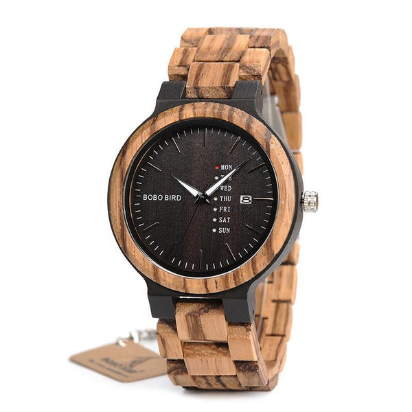 The Graduate - Luxury Wooden Watch