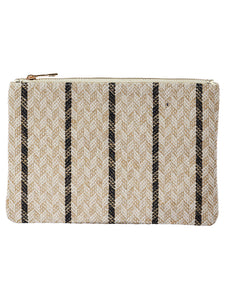 TRIBAL PATTERN WOVEN CLUTCH - Presidential Brand (R)