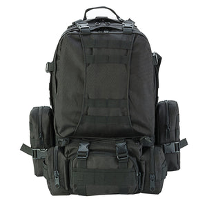 Water Resistant Outdoor 50L Military Backpack - Presidential Brand (R)