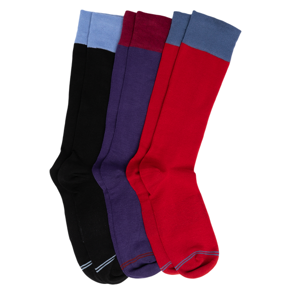 DeadSoxy Dress Sock 3-Pack - Presidential Brand (R)