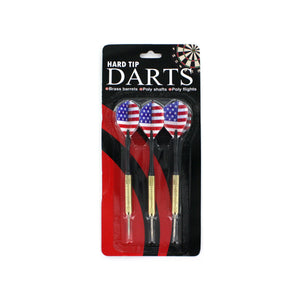 Hard Tip Darts with American Flag Design - Presidential Brand (R)