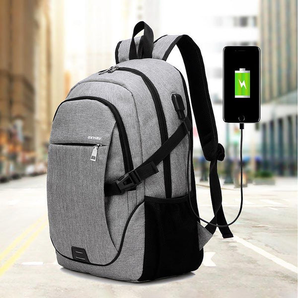 High Density and Water Repellent Multi Layer Compartment Computer Backpack