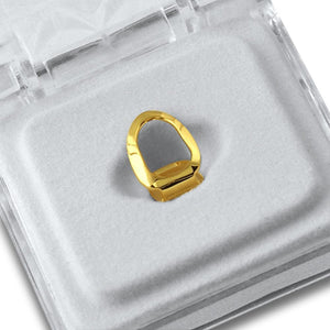 Gold Grillz Open Face Tooth - Presidential Brand (R)