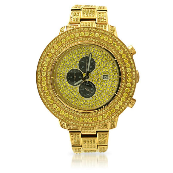 Full CZ Lemonade Watch - Presidential Brand (R)