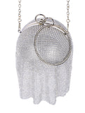 RHINESTONE METAL BALL PURSE - Presidential Brand (R)
