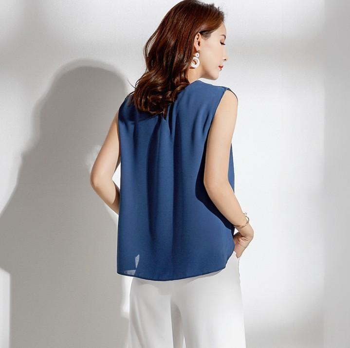 Womens Summer Sleeveless Shirt