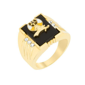 3-Stone Shriners Men's Ring - Presidential Brand (R)