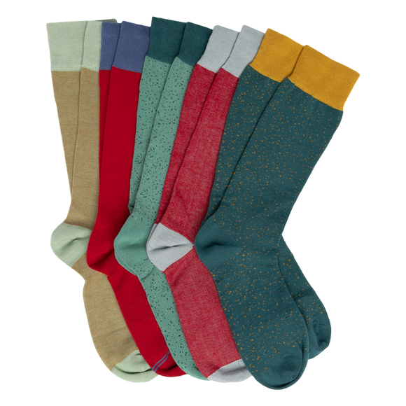 DeadSoxy Dress Sock 5-Pack - Presidential Brand (R)