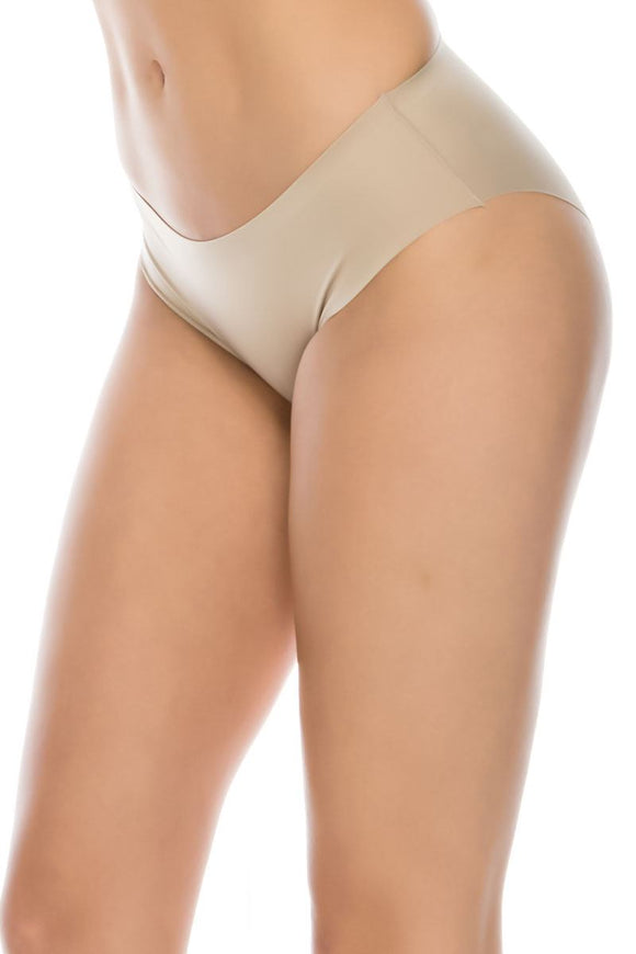 Ladies seamless shapewear brief lasercut waistband - Presidential Brand (R)