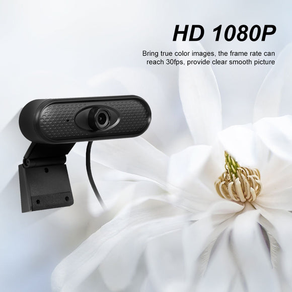 USB Webcam HD 1080P Web Camera Manual Focus Computer Web Cam Built-in Microphone Plug And Play for PC Laptop Business Conference - Presidential Brand (R)