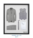 Perry Ellis Boys Suit Lt Grey Suits For Boy's - Presidential Brand (R)
