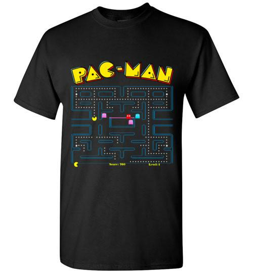 Classic Pac-Man Game Screen T-Shirt