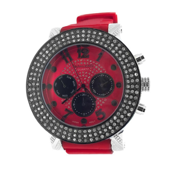 Red Rubber Watch - Presidential Brand (R)