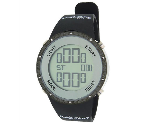 All Black Digital Diamond Watch Ice Plus