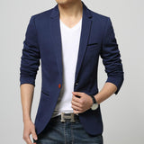 Mens One Button Blazer - Presidential Brand (R)