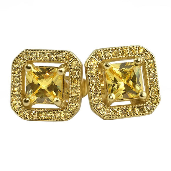 Lemonade Princess Ice Island CZ Earrings - Presidential Brand (R)