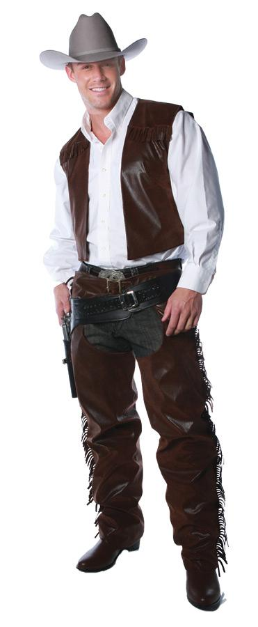 Vest And Chaps Set Adult - Presidential Brand (R)