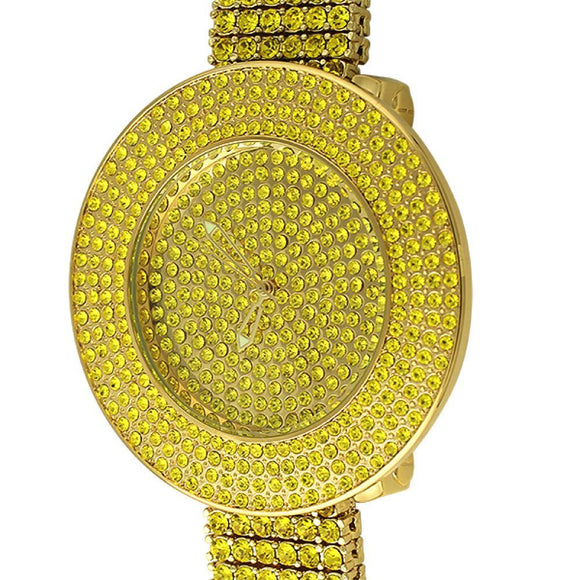 Custom Lemonade Watch  6 Row Band - Presidential Brand (R)