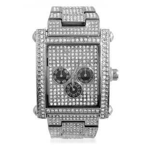 Custom Rectangle Ice Watch - Presidential Brand (R)
