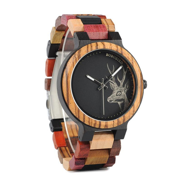 Color Me Bad- Wooden Watch