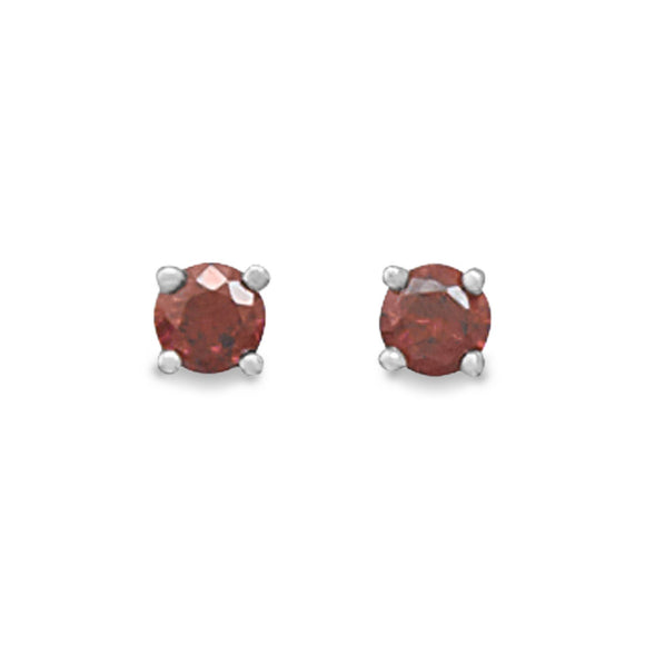 January Birthstone Stud Earrings - Presidential Brand (R)