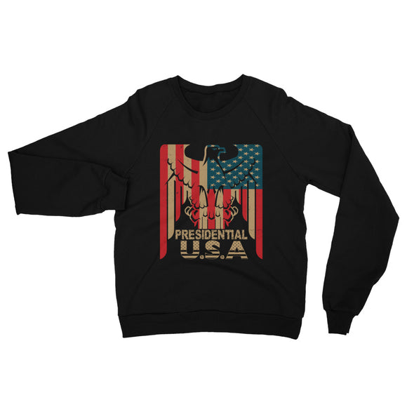 Presidential Eagle California Fleece Raglan Sweatshirt - Presidential Brand (R)
