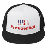 Trucker Cap USA PRESIDENTIAL (Red) - Presidential Brand (R)