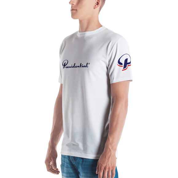 Presidential Blue Side Icon Design Men's T-shirt - Presidential Brand (R)