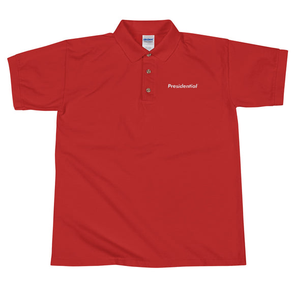 Presidential Embroidered Polo Shirt - Presidential Brand (R)