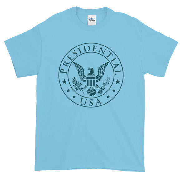 Presidential USA Badge Blue Short-Sleeve T-Shirt - Presidential Brand (R)