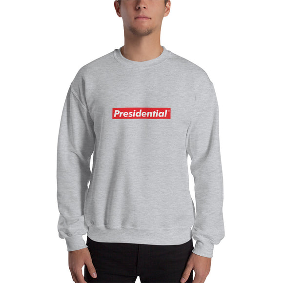 Presidential Red Box Sweatshirt - Presidential Brand (R)