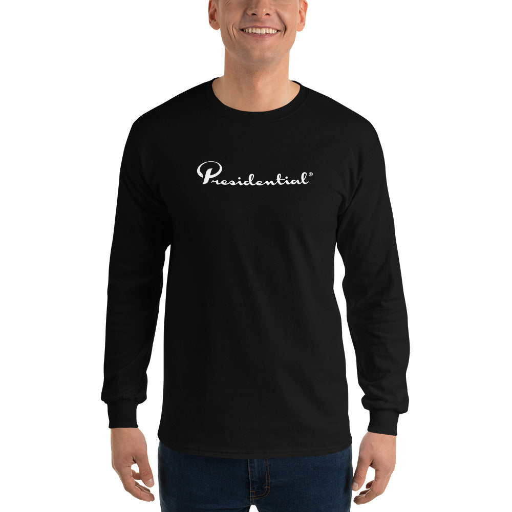 Presidential White Long Sleeve T-Shirt