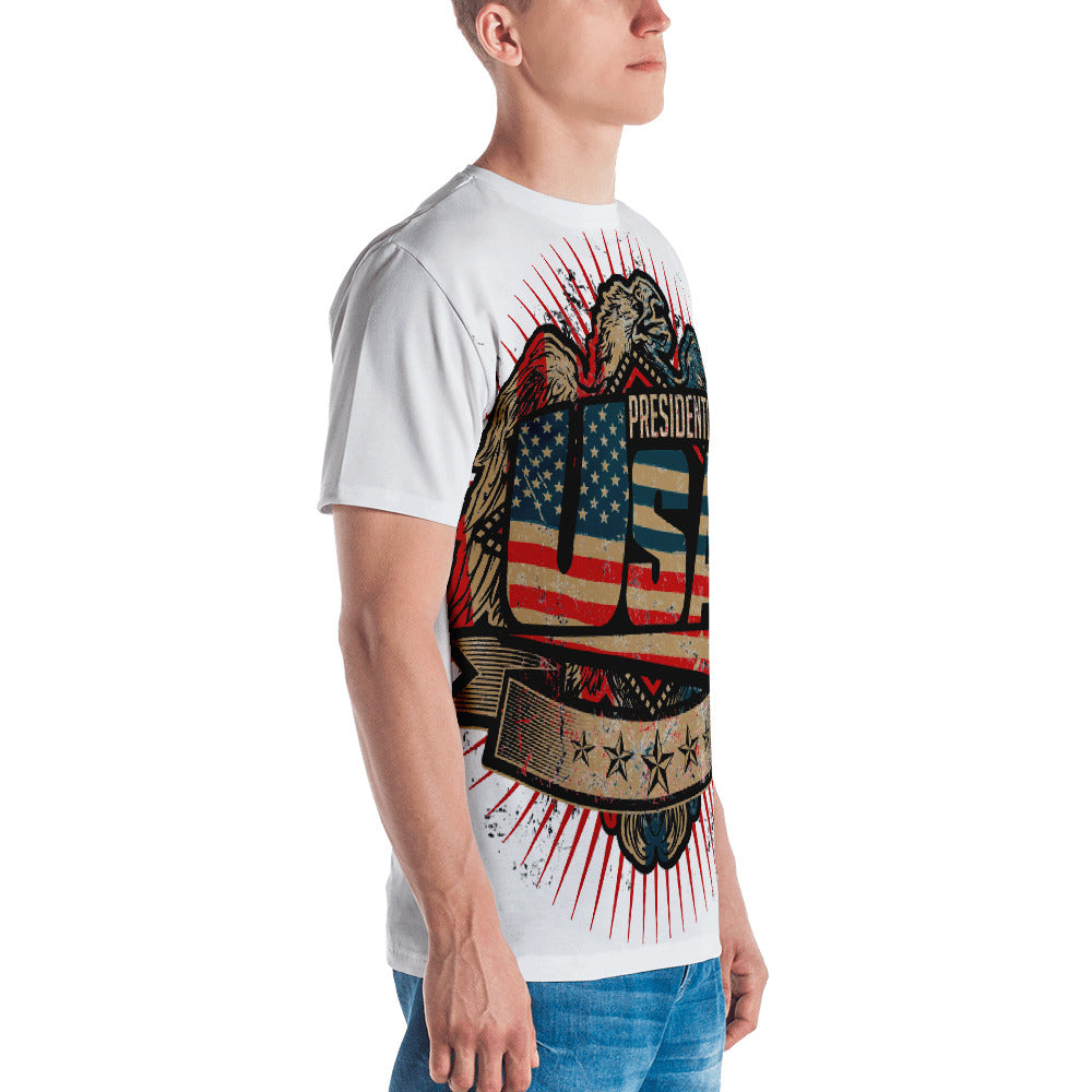 Presidential Eagle All Over Men's T-shirt